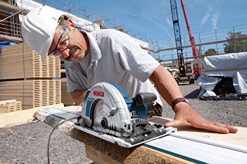 Bosch Professional Handkreissäge GKS 85 G (Sägeblatt, Absaugadapter, L-BOXX, 2200 Watt, Sägeblatt-Ø: 235 mm) - 4
