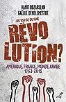 Qu'est-ce qu'une révolution ? - Amérique, France, Monde arabe - 1763-2015 par Bozarslan