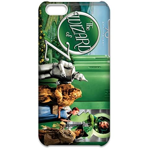 3D iPhone 5C Case,Nupro Lightweight[Non-Slip] [Scratch-Resistant]Protective Bumper Cover Wizard of OZ 1939 Design