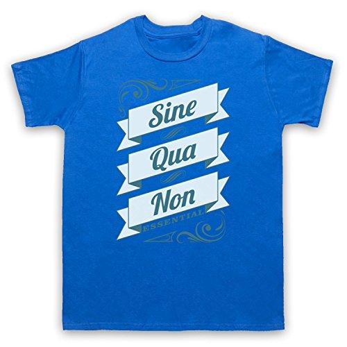 Sine Qua Non Essential Herren T-Shirt Blau