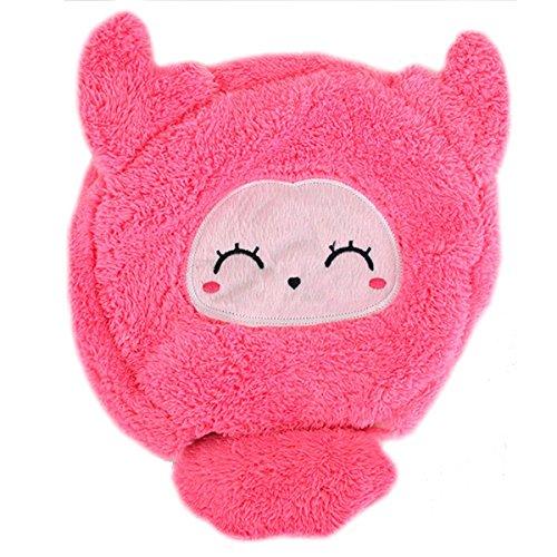 AISI mignon Dessin animé chauffé Tapis de souris USB Chauffe-mains Flocons de neige en peluche ordinateur portable PC chaud Tapis de souris, rose, taille unique