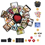 CHAOCHI Boîte Cadeau Creative Surprise Explosion Box, Cadeau Surprise Scrapbooking Album Photo Coffret Cadeau Anniversaire Mariage Saint Valentin