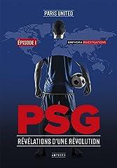 estimation pour le livre PSG - Révélations d'une révolution
