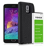 Best Matching Cases For Galaxy Note 4s - YISHDA Galaxy Note 4 Battery, 7000mAh Replacement Samsung Review