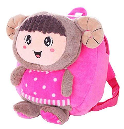 Preisvergleich Produktbild schöne Kinder Kleinkind Rucksack für Schule Rucksack rucksäcke, rosarote Schafe