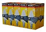 10 x Philips Glühlampe Glühbirne Kerze 25W E14 MATT Glühbirnen Glühlampen Kerzen