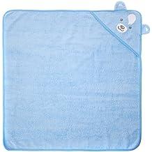 Twins Badetuch BÄR, Traje de baño Bebé-Niñas, Azul (14-4121 - blue bell), Talla única