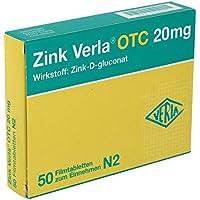 ZINK VERLA OTC 20MG 50St Filmtabletten PZN:3000532 preisvergleich bei billige-tabletten.eu