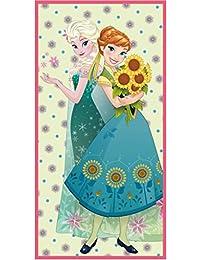Disney El reino del hielo Chicas Toalla de playa - fucsia