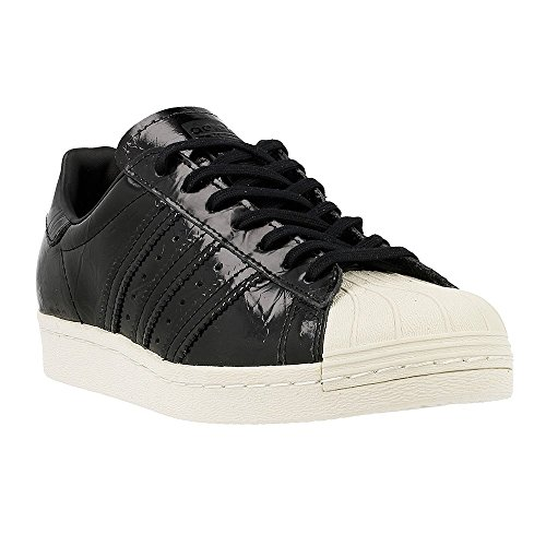 adidas Originals Superstar 80s W, core black/core black/off white Black