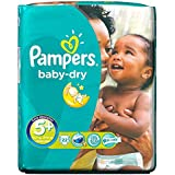 Junior Plus de 13-27kg de Pampers Baby Dry Taille (22) - Paquet de 2