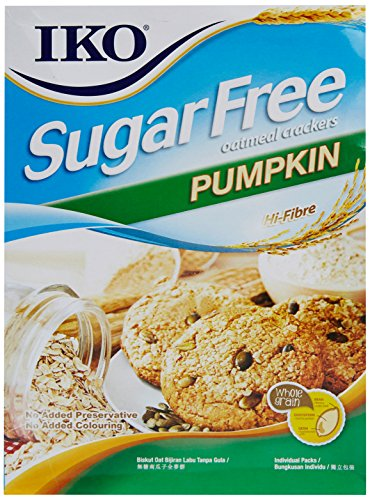 Iko Sugar Free Biscuits, Pumpkin, 200g
