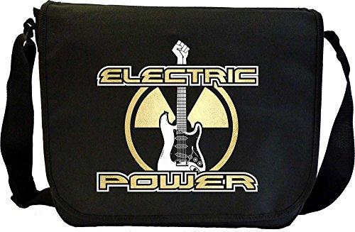Electric Guitar Power - Sheet Music Document Bag Musik Notentasche MusicaliTee (Prs Picks)