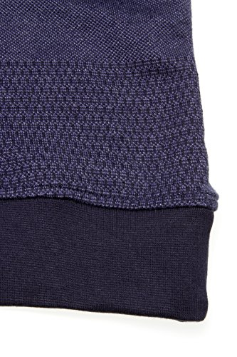 Kitaro Herren Pullover Sweatshirt Los Andes Dunkelblau