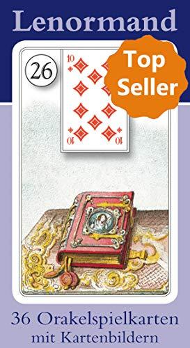 Lenormand Orakelkarten mit Kartenabbildungen: 36 Orakelkarten -