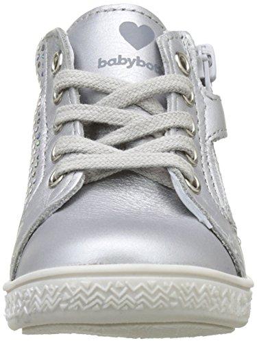 Babybotte Aubladi, Baskets Hautes Fille Argent (Argent)