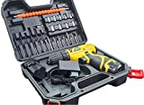 cheston Cordless Drill Driver kit with 24 Accessories for Drilling and Screwdriver keyless