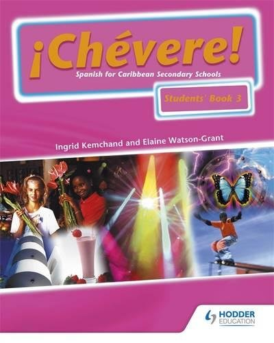 Chevere! Students' Book 3: Student Book No. 3