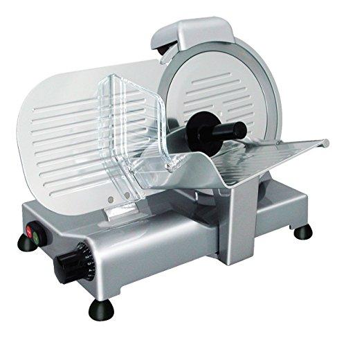 RGV Lusso 22GS Electric Aluminium Silver Slicer Freiraumschneider (Aluminium, Silver, 13kg, 363x 448x 335mm, 480x 530x 390mm)
