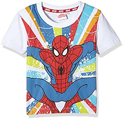 Marvel Boys' Spiderman T-Shirt