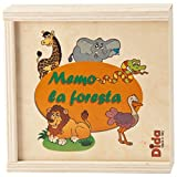 DIDA - Memory -Tiere des Waldes- EIN Memory-Spiel aus Holzteilen in Einer Holzbox