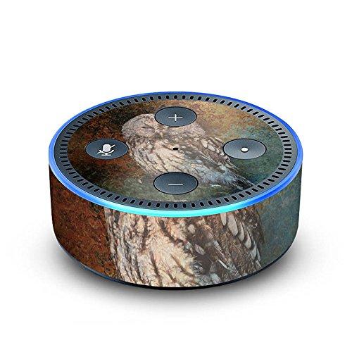 DeinDesign Amazon Echo Dot 2.Generation Folie Skin Sticker aus Vinyl-Folie Eule Wald Forest