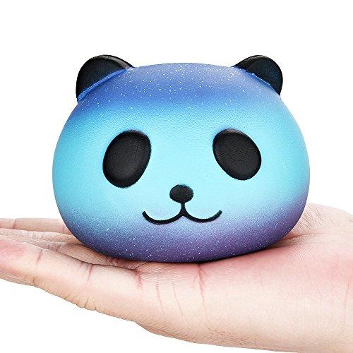 15ced868753 Juguetes compresivos para niños pequeños Juguetes estrellados Lindos 10 cm  de Panda Squishy Baby Cream Perfumados