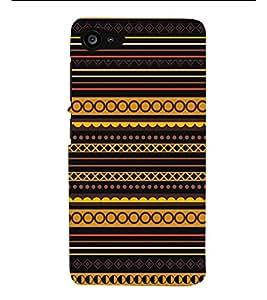 HiFi Designer Phone Back Case Cover Lenovo ZUK Z2 :: Lenovo Zuk Z2 Plus ( Colorful Pattern Design Black Yellow Purple )