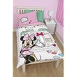 Disney - Juego de cama, diseño de cafetería de Minnie Mouse