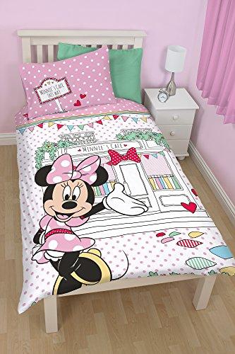 Disney Minnie Completo copripiumino singolo, Multicolore