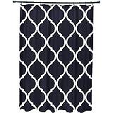 E por diseño French Quarter geométrico impresión cortina de ducha, Bewitching