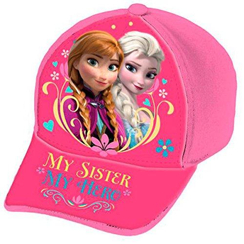 ref236-lic415-casquette-enfant-la-reine-des-neiges-licence-officielle-disney-taille-52
