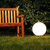 Boule lumineuse de jardin Ø 40 cm