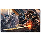 WARCRAFT82 Playmat - Gioco Warcraft Wow Table Mat Games tastiera Pad Dimensioni 60 x 35 cm World of Warcraft Mousepad per Yugioh o Pokemon Mtg TCG