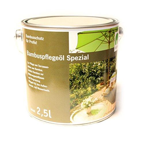 elephant Bambus-Pflegeöl 'Spezial', für CoBAM-Terrassendielen, espresso (2.5 Liter)