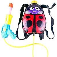 Newin Star - Pistola de Agua,Lanzador de Agua,con depósito Mochila -Diseño de Lindo Insecto para niños