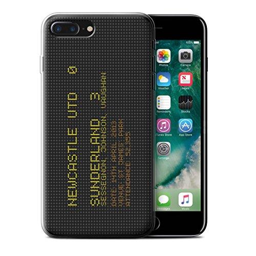 Officiel Sunderland AFC Coque / Etui Gel TPU pour Apple iPhone 7 Plus / Pack 6pcs Design / SAFC Résultat Football Célèbre Collection 2013