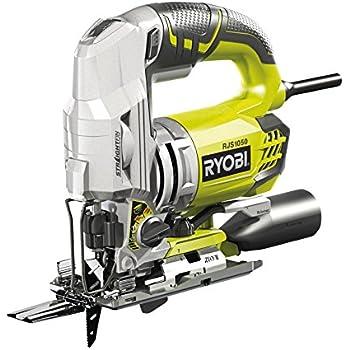 Ryobi 4892210128379 Scie Sauteuse Pendulaire, 680 W, Multicolore