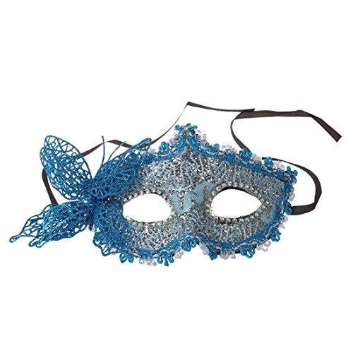 TOOGOO (R) Frauen Reizvolle Maske venezianische Maskerade Party Kugel Karneval Gesichtsmaske, Augenmaske (Masken Frauen Für Maskerade Venezianischen)