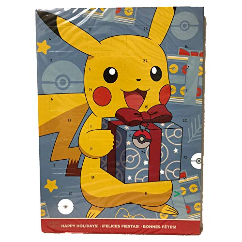 Nintendo Pokemon Pikachu Adventskalender Milchschokolade (65g)