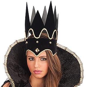 Carnival Toys - Corona lujo Maléfica en bolsa, color negro (6174)