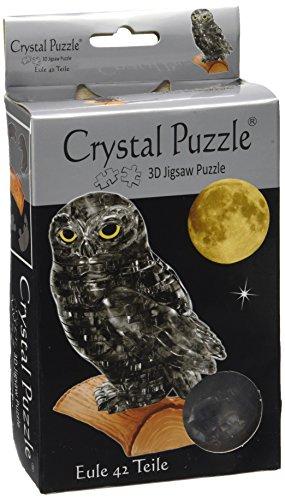 Unbekannt Crystal Puzzle 59157 3D Eule 42 Teile, bunt (3d Crystal Puzzle Pferd)