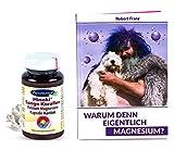 Robert Franz Magnesium-Buch und Ayursana Sango-Kapseln mit 2:1 Kalzium und Magnesium (60 Stück)