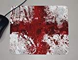 Flags - England - Country Europe - Paint Splatter - Novelty Gift - Custom Name Mouse Pad