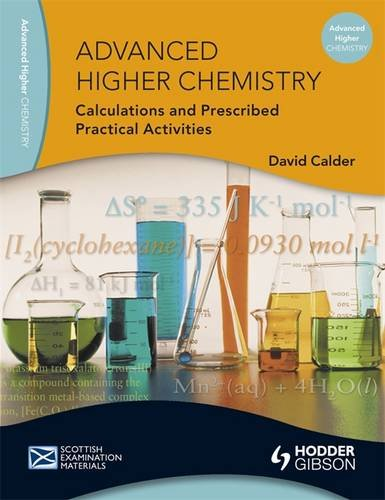 Advanced Higher Chemistry Calculation and PPAs (SEM)
