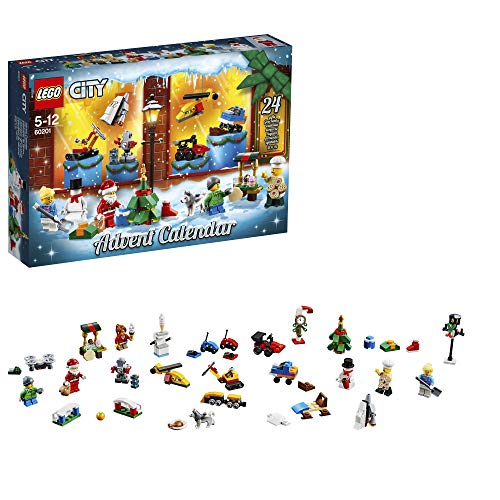 Produktbild bei Amazon - LEGO City Adventskalender (60201) Kinderspielzeug