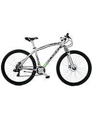 Bugno Bicicleta Acero Btt Suspensión Blanco