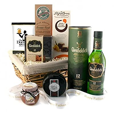 Whisky Gifts - Glenfiddich Whisky Hamper - Available for Next Day Delivery Ideal Gift for Him Father's Day Birthday and Thank You Gifts