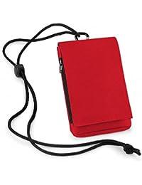 Pochette - Étui multifonction pour iPhone / Smartphone (Rouge)