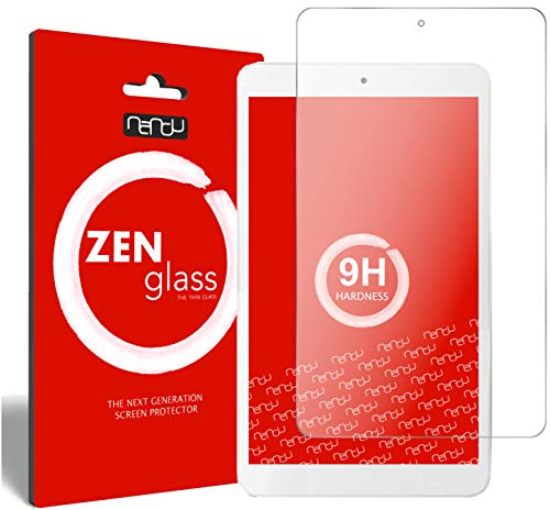 nandu I ZenGlass Flexible Glas-Folie für Telekom Tablet Puls Panzerfolie I Bildschirm-Schutzfolie 9H